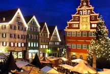 Germany | Christmas Markets / Calling all Christmas Market lovers! I am a Christmas market fanatic (visited 17 last year alone) and curate the best Christmas markets in Germany to visit.  / by Laurel Robbins: Monkeys and Mountains Adventure Travel Blog