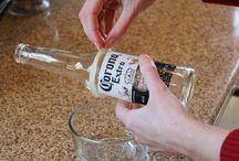 Reciclar com garrafas de vidro