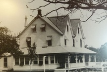 Historical Crescent Lodge / Today's Crescent Lodge used to be a 8 rooms house with a porch around. Today's the main lodge has extended to 12 rooms upstairs.