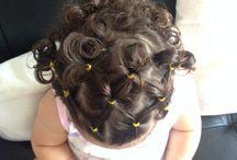 Peinados niñas.