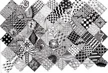 Zentangles and drawing