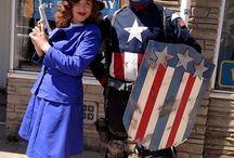 I Like to Dress as Captain America