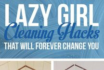 Cleaning hacks / by Tia Rowley