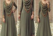 stiching gown