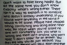 Quotes / Happy and sad