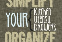 Organizing the Kitchen