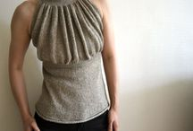 Knitting tops, tanks