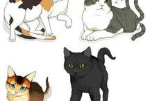 고양이일러스트