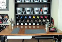 Craft Room / by Brittney Metcalf