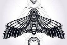 Moth Tattoos