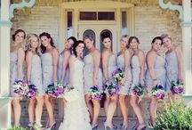 wedding parties / by Kennedy Tinsley