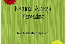 Allergy Tips / Tips for seasonal and year-long allergies.