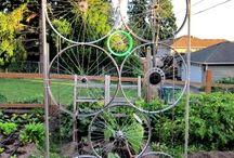 Садовая решетка