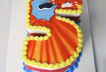 Power Rangers Cake Ideas