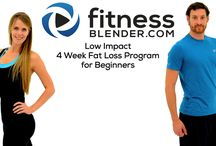 "My workout challenge with Fitness Blender / Let's try it again.. 4 week programe  I follow ""Low impact 4 weeks Fat Loss program for beginners"" from Fitness Blenders. Videos I post are part of each daily challenge, but there are more than one each day. I respet FB and buy this program, so if you want challenge yourself, buy it too."