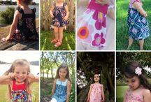 GIRLS FLOSSTYLE PDF PATTERNS / Something for every little lady ~ shorts ~ skorts ~ skirts ~ dresses and tops toddler to teen!