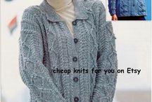 Knitting / Ladies Jacket