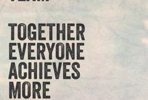 Teamwork quotes★♡♥