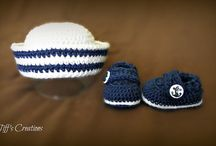 boys blue hat and shoe