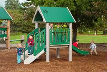 Pre-School Playgrounds / Perfect for Church groups and daycare facilities, we have indoor and outdoor bundles designed for toddlers.