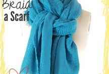 Sjaal omdoen