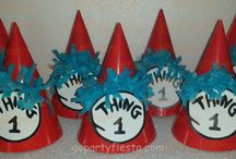 Thing 1 Thing 2 Cat In the Hat