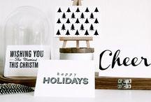 christmas // lovely christmas cards