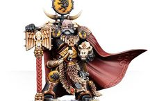 wh40k and normal wh figures