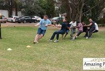 American Tower Corporation SA Mini Olympics Team Building Event in Sandton