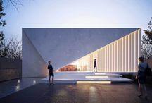 Volúmenes arquitectura fachadas