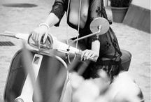 Vespa and Girls
