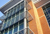 Strata Zenith / A range of cassette and standard brise soleil systems designed to deliver simplicity and efficiency with the performance benefits of a 'Z' blade design.