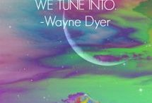 Wayne Dyer Quotes / Easy to understand, spiritual vs religious living, words to live by from Dr. Wayne Dyer.