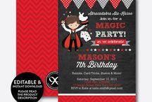 Boy Birthday Invitations / Boy Birthday Invitations, Boy Party Ideas, Boy Birthday Party