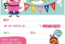 par-tay / printables, party related tutorials, inspiration, and crafts / by chellise