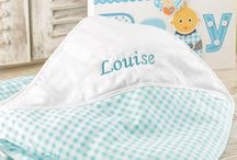 Personalised Baby Gifts / Looking for something special to take to a baby shower or congratulate the new mommy and daddy on the birth of their newborn? Look no further than the cute personalised baby gifts and ideas we have available.