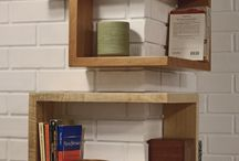 wrap around shelves