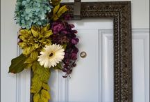 Wreaths / Wreaths of all types. From holidays to everyday use / by Summer G