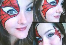 Facepainting - Superheroes / Superheroes- Facepainting