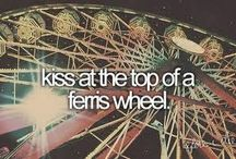 Bucket list - to be done before I die