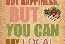 Local Organic Sustainable Food / This is about all the food that you can get locally from small organic farmers. Even in the big city you can find a farmers Market. Save money and save the world!!