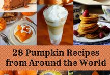 Halloween....Pumpkin Snacks & Recipes