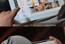 Tablet UI Design