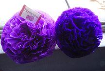 Flores 20 cms / 10 flores de 20 cms $7.000 Los colores son elegidos por los clientes/as, los pedidos deben hacerlo en manitosideas@gmail.com con cinco días hábiles de anticipación