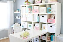 Heavenly Home Offices / >>> Home {Office} Is Where the Heart Is <<<