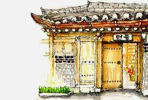 Hanokstay drawing