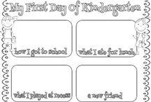 Beginning of Kindergarten Activities & Resources / by Kristen Gardner