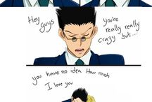 Hunter x Hunter / With Gon, Killua, Kurapika and Reolio- I mean, Leorio!