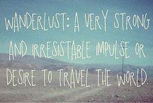 wanderlust / dream travel destinations
