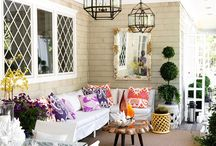 Porches, Decks and Patios / by Susan Gibb